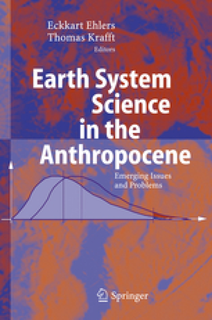 Cover Broschuere Earth System Science in the Anthropocene